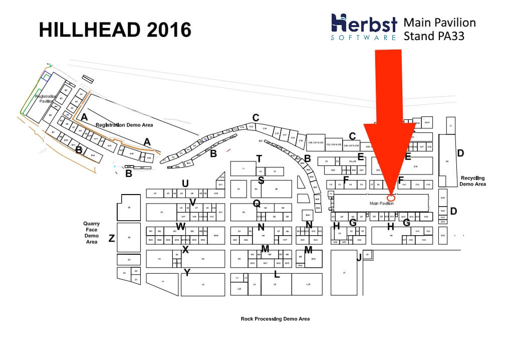 Hillhead 2016 quarry construction and recycling show for Site plan design software