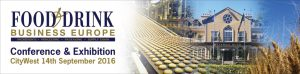 food and drink 2016 conference banner