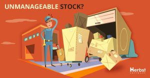 Distribution - Herbst Software Ad - Unmanageable Stock