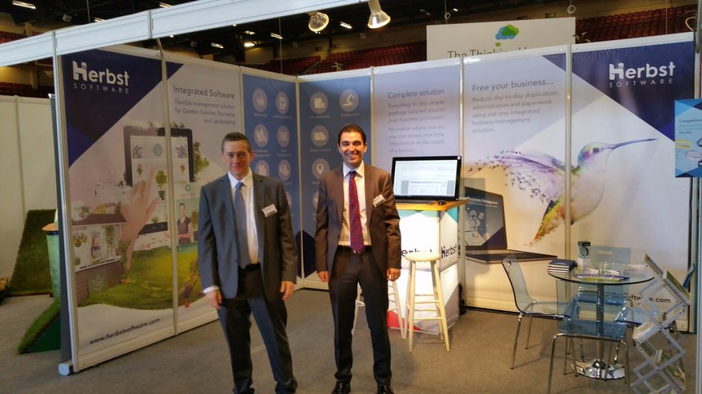 Herbst Software participating in Glas 2017.
