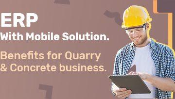 mobile solution for quarry